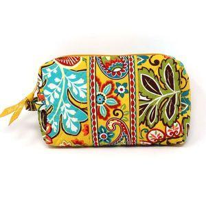 VERA BRADLEY Floral Cosmetic Bag